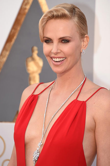 charlize theron post oscars