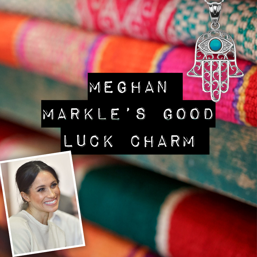 Meghan Markle hamsa jewellery
