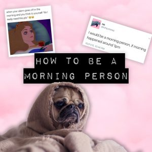 How to be a morning person Gold Boutique