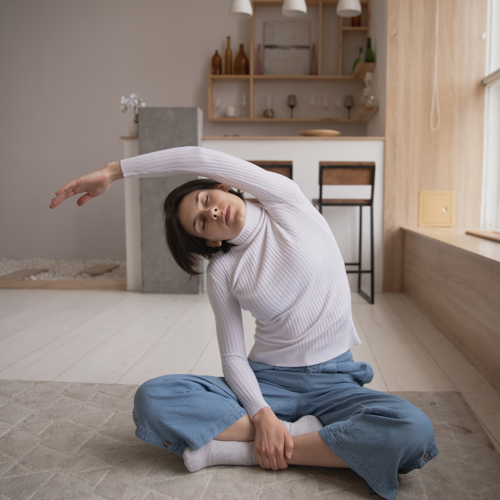 How to Have a More Mindful New Year - Stretch