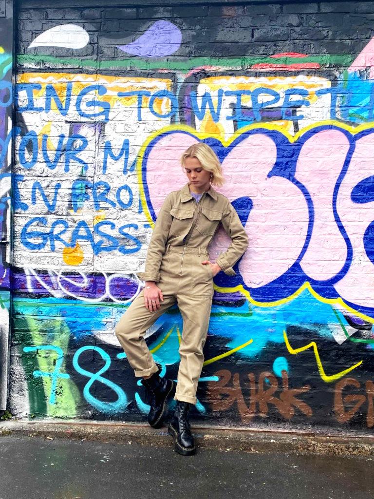 Summer Essentials Campaign Graffiti Photoshoot