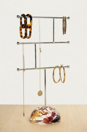 Urban Outfitters Pressed Flowers Jewellery Stand  £20